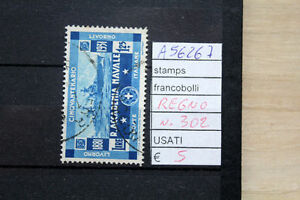 FRANCOBOLLI-ITALIA-REGNO-USATI-N-302-A56267