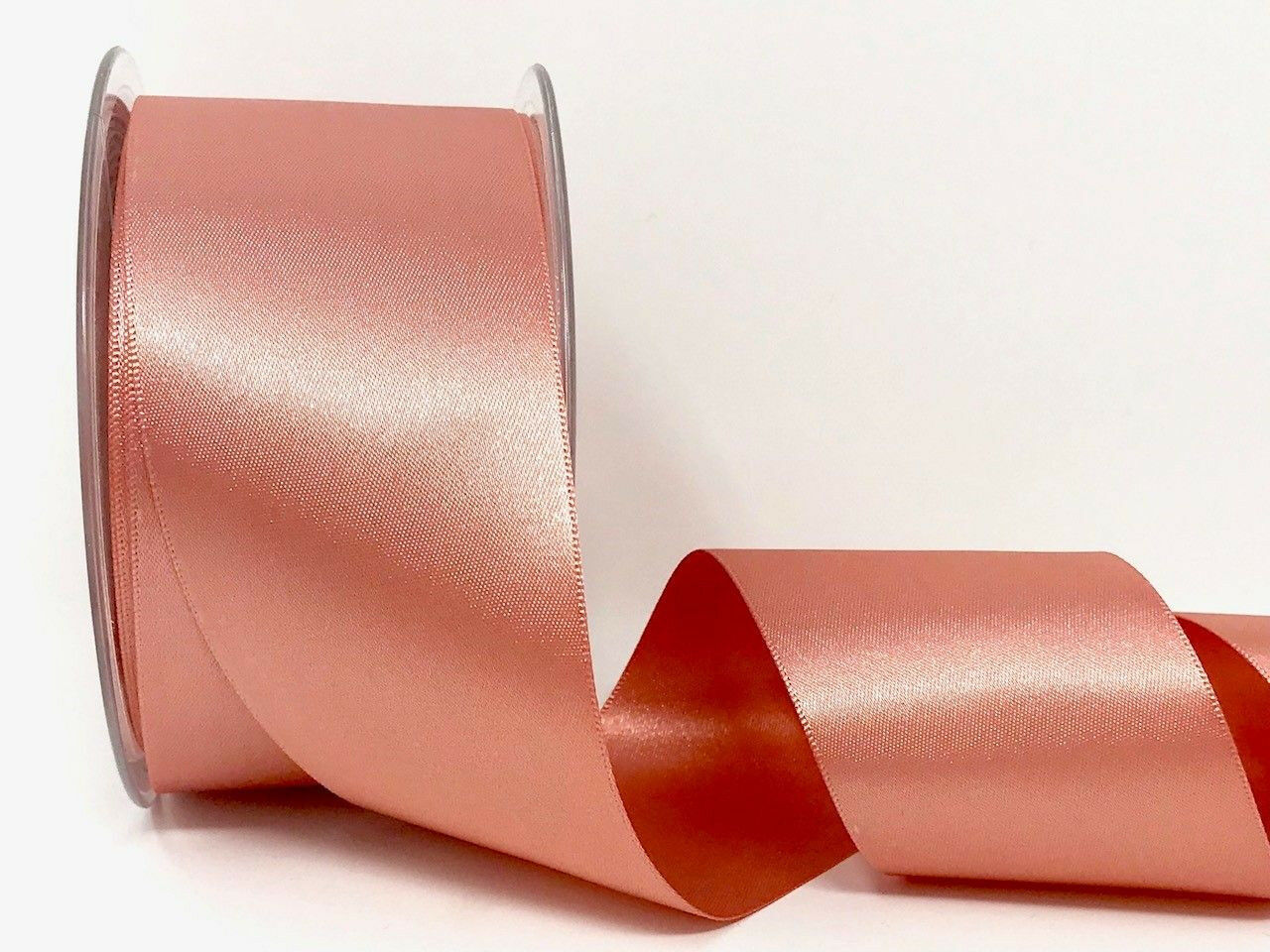 Eleganza 3 x 50 mm Premium Quality Ribbon 11 x 11 x 2 cm Rose Gold Satin