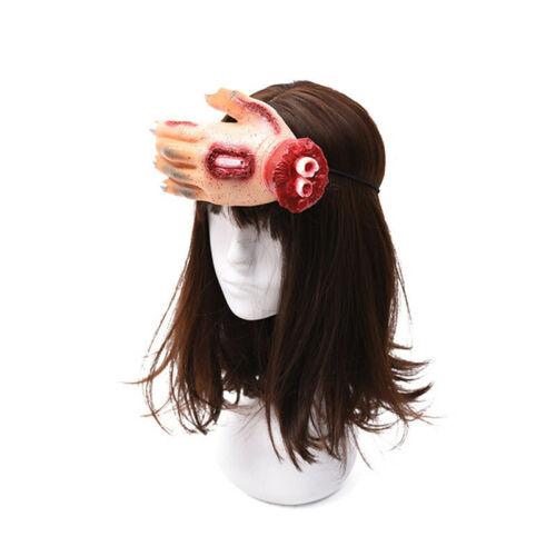 Gothic Horn Headband Bull Skull Headdress Headpieces Lolita Halloween Props 6T
