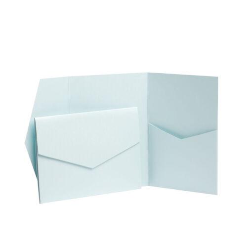 Wallets Pocketfold Wedding Cards Make your Wedding Invites Wedding Craft Pack