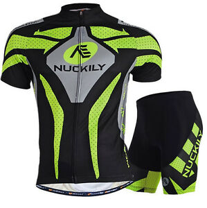 Sports-Men-Cycling-Wear-Bike-Short-Sleeve-Clothing-Bicycle-Set-Jersey-Shorts
