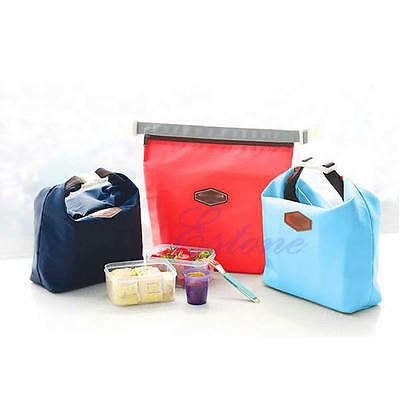 Lunch Bag Waterproof Thermal Cooler Insulated Carry Tote Picnic Storage Pouch