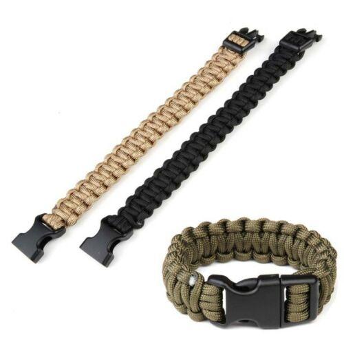 469555 Military Paracord Bracelet Buckle Large k2016b 8 inch