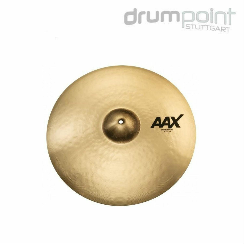 Sabian AAX 21  Medium Ride Cymbal Becken Drums Schlagzeug Brilliant  SONDERPREIS