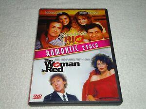 Blame-It-On-Rio-amp-The-Woman-IN-Rojo-Pantalla-Ancha-DVD-2010-Raro-Oop