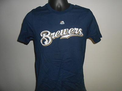 L Shirt Von New-minor Fehler Brewers Ryan Braun #8 Kinder Jugend L 14/16