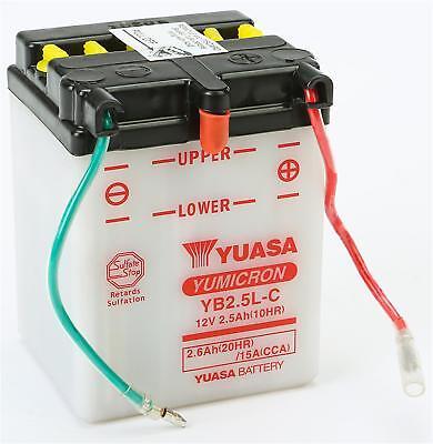 Bater/ía yuasa YB2.5L-C Yuasa