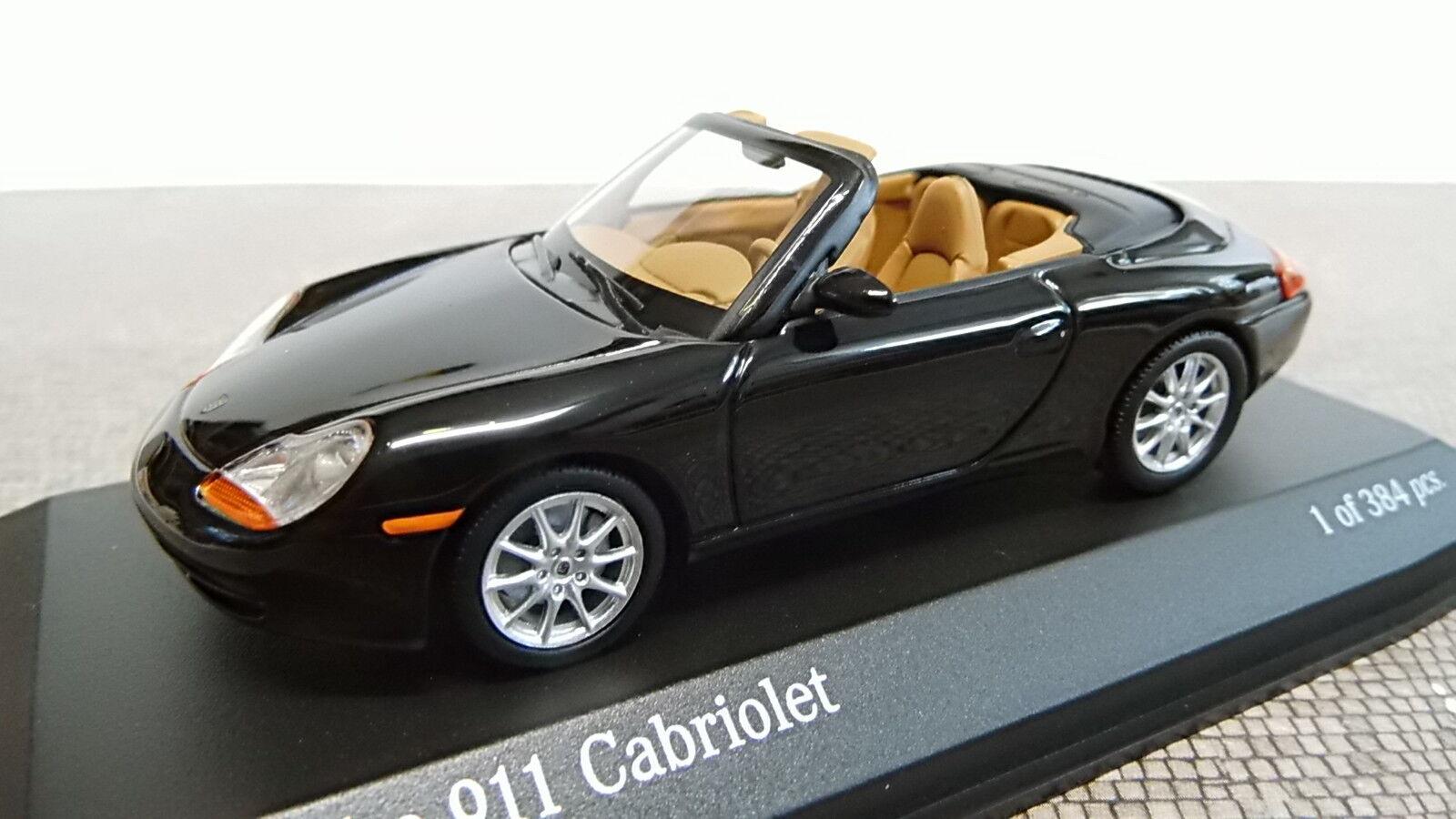 Minichamps 1 43 Porsche 911 converdeible 1998 negro negro negro 400061090 nuevo embalaje original f64f5c