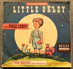 Little Orley's Adventures told by Uncle Lumpy - 1948 Decca 2-record Set CUS-7