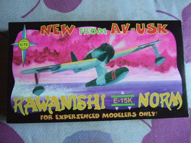 1 72 scale Kawanishi E 15K  Norm   Aviation Usk  AV-USK Kit N° AV 2023