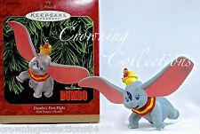1999 Hallmark Dumbo's First Flight Disney Keepsake Ornament Timothy Mouse Dumbo