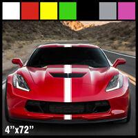 4 Hood Stripe Auto Graphic Racing Stripe Decal Vinyl Car Truck Universal