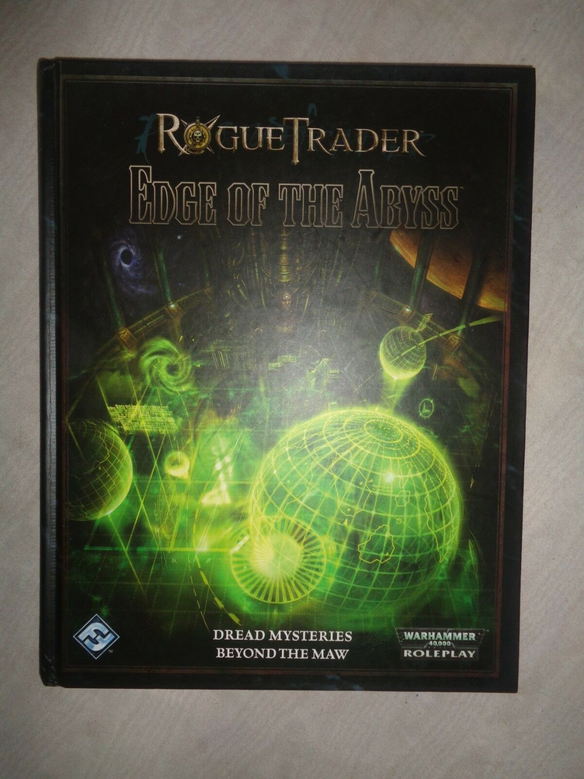 Rogue Trader Trader Trader  'Edge of the Abyss' - Warhammer 40k Role-play - Dark heresy etc b0dfbe