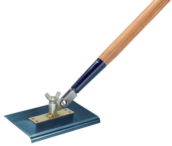 9  x 12  All-Angle Blau Steel Walking Edger with Handle