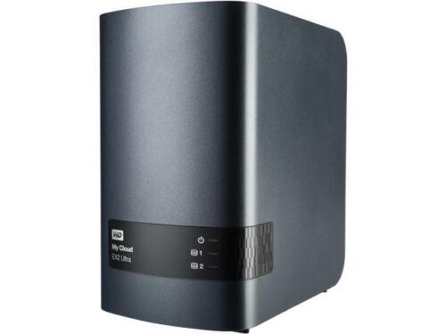 WD Diskless My Cloud EX2 Ultra Network Attached Storage NAS WDBVBZ0000NCH-NE
