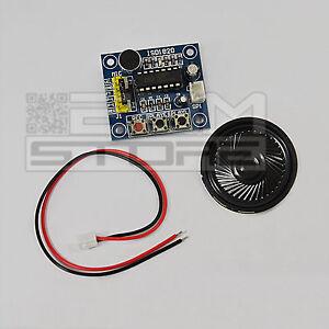 Dettagli su Scheda vocale con ISD1820 voice module shield per arduino pic -  ART  CR05