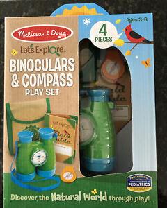 Melissa & Doug Jumelles et boussole Play Set Age 3-6 Set#30818 Let's Explorer