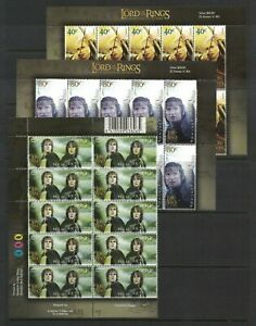 2003-NZ-The-Lord-of-the-Rings-SG-2652-7-Set-6-in-blocks-of-10-MUH-wholesale
