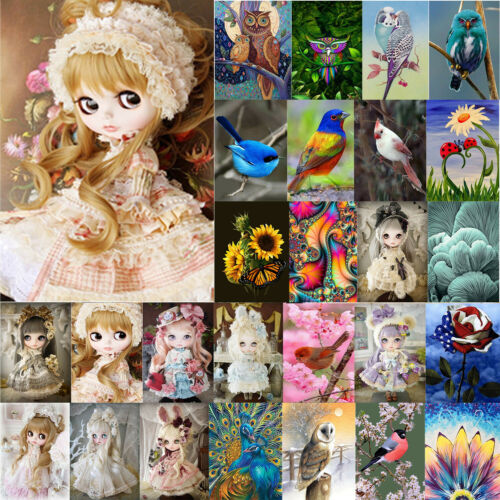 5D DIY Full Drill Diamond Painting Cross Stitch hand Embroidery Mosaic Art Craft