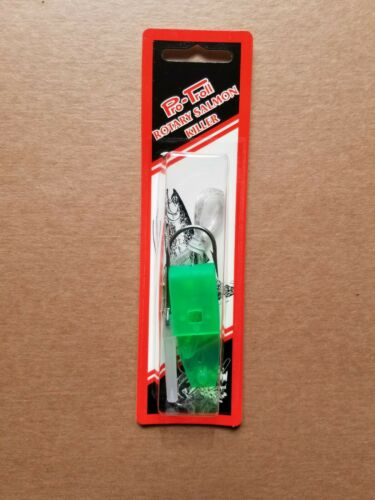 PRO-TROLL ROTARY SALMON KILLER color GREEN Large inventory!
