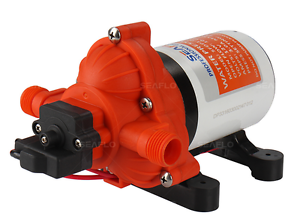 Seaflo 12v DC 3.0 GPM 45 PSI Water Pressure Pump for RV Boat Marine