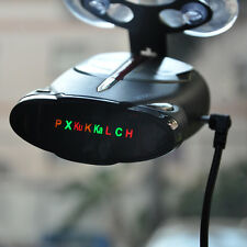 "1.5"" LCD Display Cobra XRS 9880 Laser Anti Radar 360° Driving Single X Detectors"