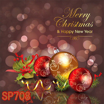 XMAS 8x8 FT CP (COMPUTER PRINTED) PHOTO SCENIC BACKGROUND BACKDROP Sp708
