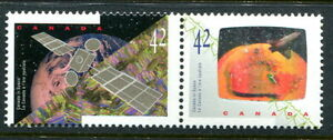 """MNH Canada Space Hologram """"METEOR SHOWER"""" Variety #1442vi (Lot#rn53m)"""