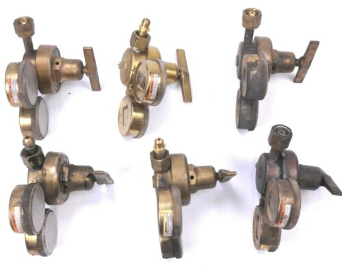 Harris Oxygen Gas Regulator 2500-125 for Heavy Duty Cutting Welding 3000 Psig
