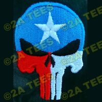texas Punisher Embroidered Hat 14 Different Color/design Options Molon Labe