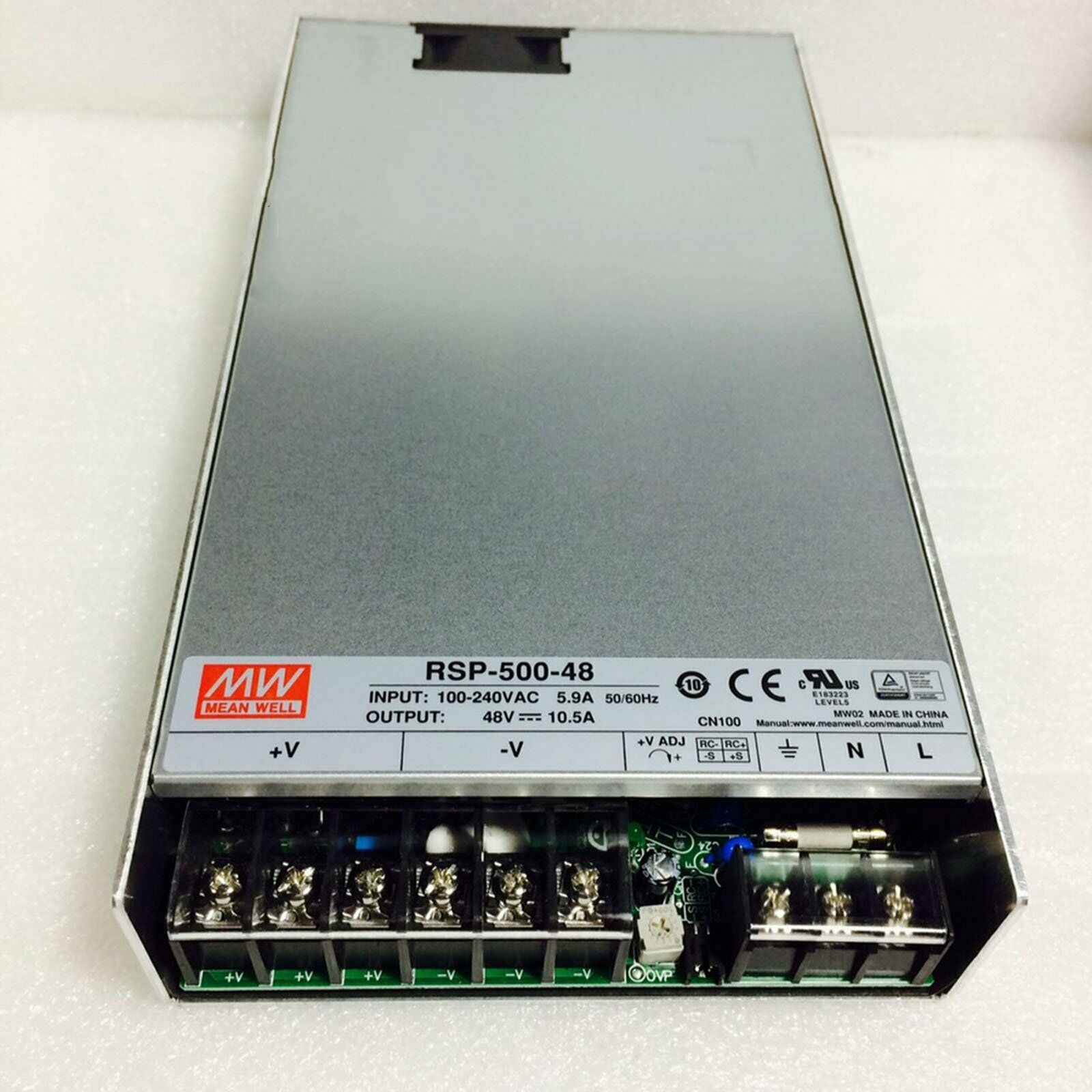 1PC New MEAN WELL RSP-500-48 replace SP-500-48 Switching Power Supply