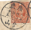 thumbnail 3 - RARE CHINA MARTYR STAMPS WITH UNILINGUAL CANCELS ON PARTIAL COVER TO LOS ANGELES