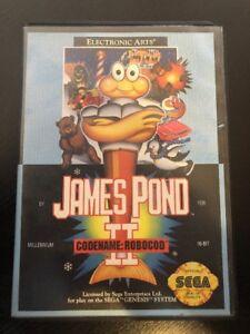 James-Pond-II-Codename-RoboCod-Sega-Genesis-Box-amp-Game