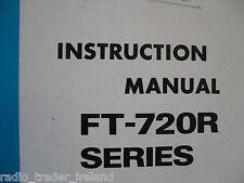 YAESU FT-720R (GENUINE INSTRUCTION MANUAL ONLY).........RADIO_TRADER_IRELAND.