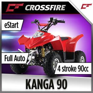 Crossfire Kanga 90cc Fully Automatic Quad Bike Atv Ebay