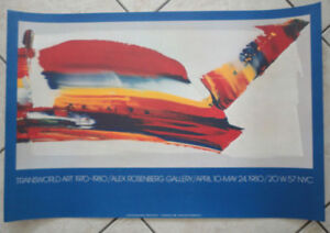 Ausstallungsplakat-Transworld-Art-1970-1980-New-York-1980