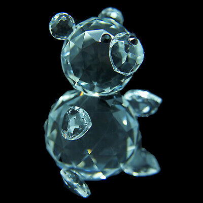 Bear Ribbon Austrian crystal figurine ornament home decor RRP$199