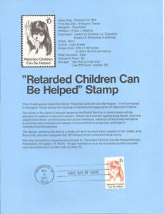 7419-Retarded-Children-Stamp-1549-Souvenir-Page