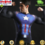 Mens-Marvel-Compression-Armour-Base-Layer-Gym-Top-Superhero-Cycling-T-shirt-fit thumbnail 50
