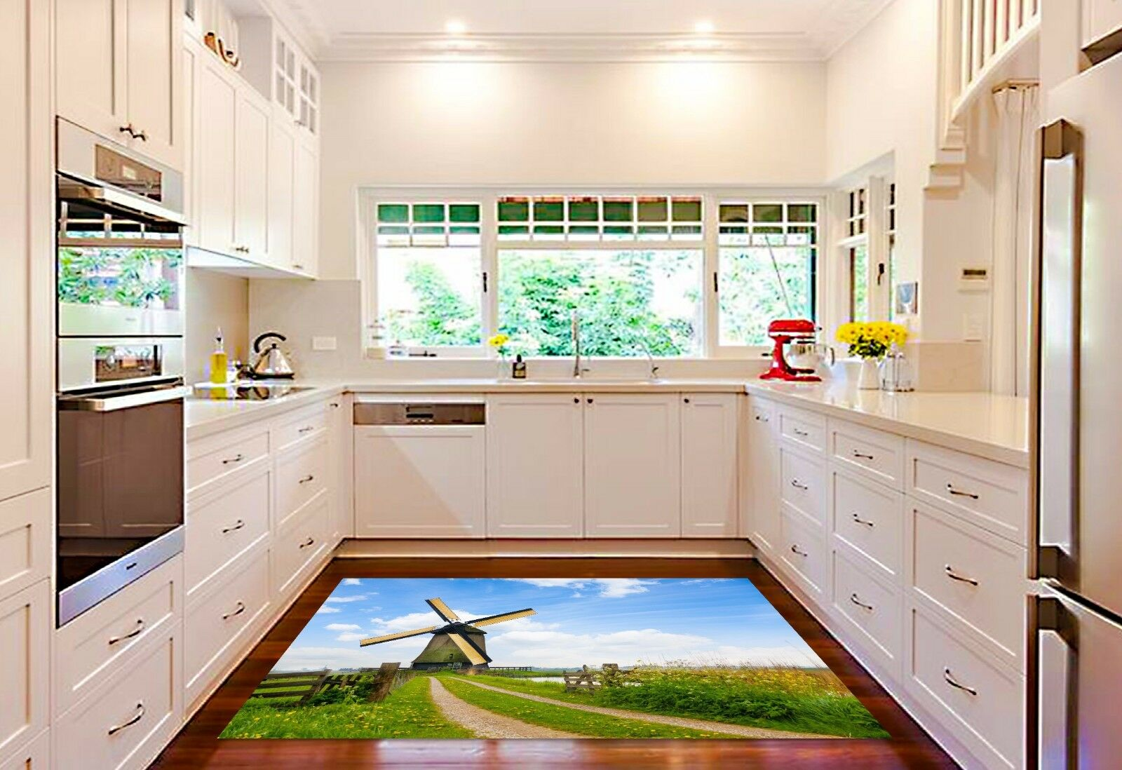 Stampe Da Cucina : 3d mulino sky41 a vento sky41 mulino tappeto da cucina pavimento