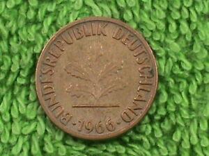 WEST-GERMANY-1-Pfennig-1966-F