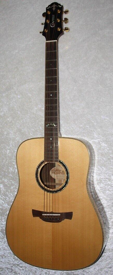 CRAFTER DLX 3000 SK - Akustikgitarre - sehr schöne Gitarre mit gutem Ton