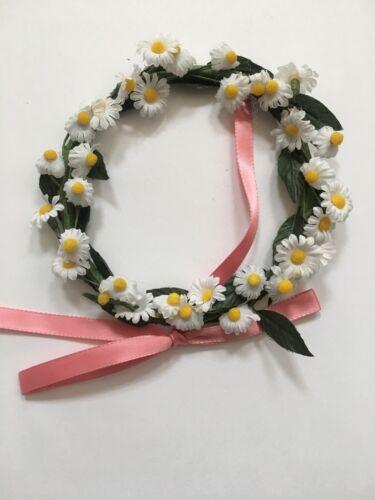 American Girl 18/' Doll Kirsten Birthday Flower Wreath ONLY Retired PC