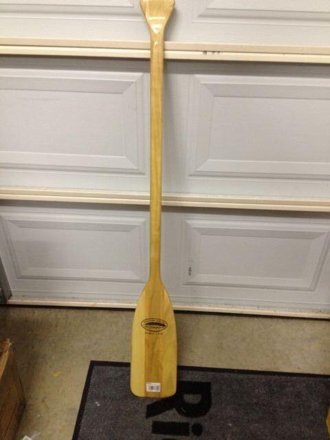 Feather Brand 4.0 Feet Wooden Single Paddle Oar Wall Hanger Decor