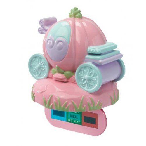 Disney Princess Baby Bathtub Water Temperature Tester Cinderella Carriage Pink