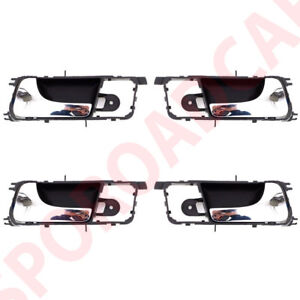 Inside Chrome Door Handle 4p Set For Gm Optra Lacetti Suzuki Forenza 2003 2007 Ebay