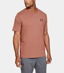 Under-Armour-Herren-UA-Sportstyle-Linke-Brust-Kurzarm-Shirt-T-Shirt-1326799-226