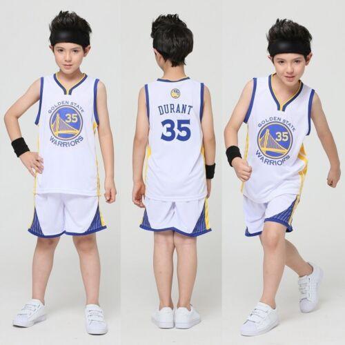 New Kids Baby Boys Girls #23 Basketball Kit Jerseys Shorts Set Sportswear 2-14Y
