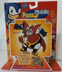 Sonic-Underground-Dr-Robotnik-PuzzMobile-Grand-Toys-2000-New-in-Package