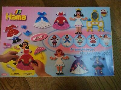 Rare Brand New 6000 Hama Bead Fashion Design Kit 2 Ebay